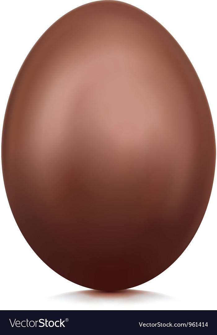 Chocolate egg vector | Price: 1 Credit (USD $1)