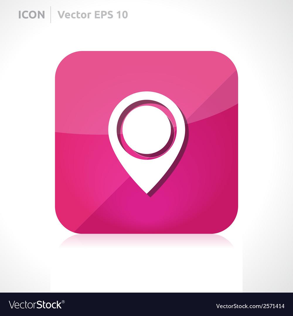 Navigation - pointer icon vector   Price: 1 Credit (USD $1)
