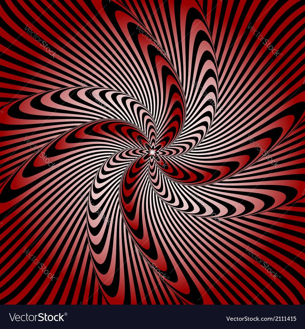 Design whirlpool movement warped background vector   Price: 1 Credit (USD $1)