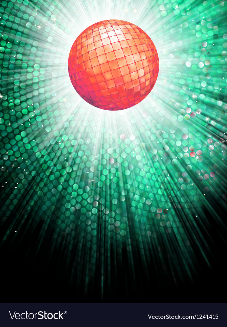 Disco ball background vector   Price: 1 Credit (USD $1)