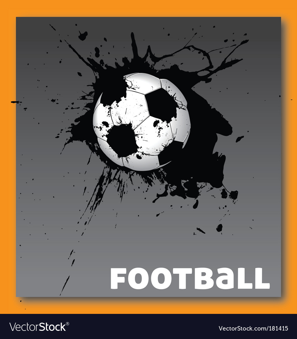 Football soccer vector | Price: 1 Credit (USD $1)
