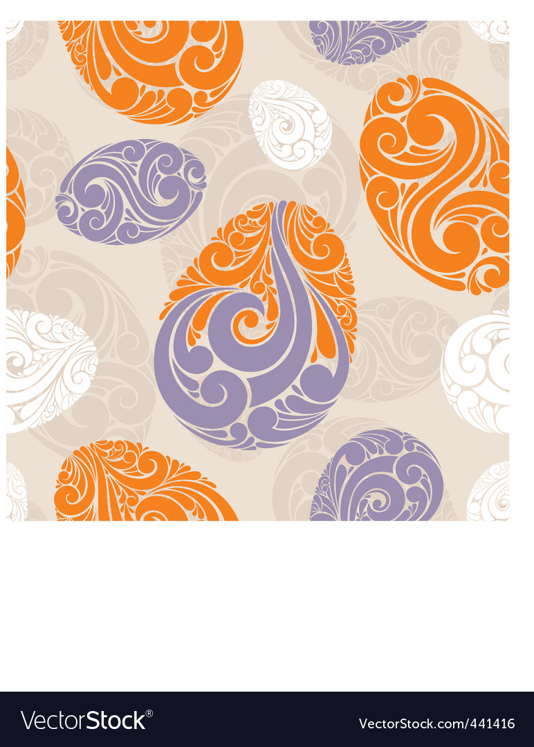 Graphic eggs background vector | Price: 1 Credit (USD $1)