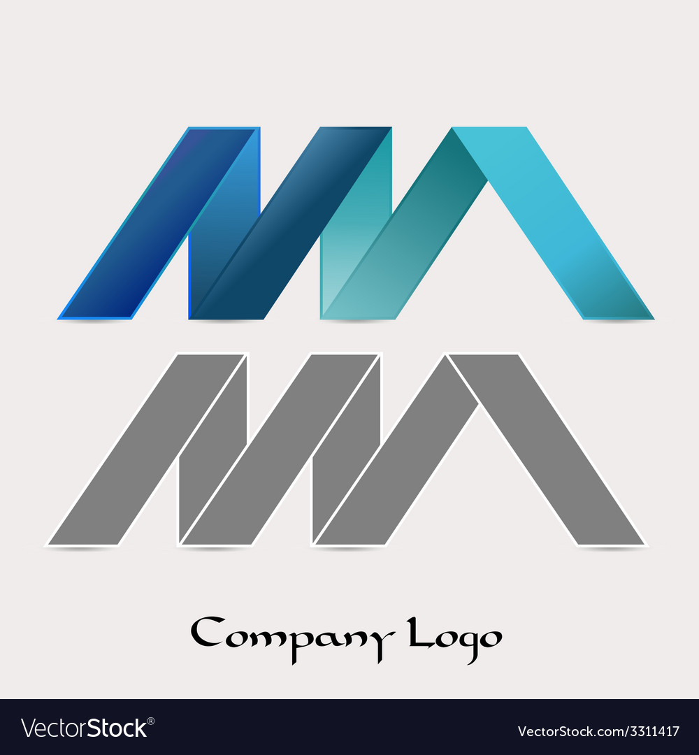 Zig zag company logo vector | Price: 1 Credit (USD $1)