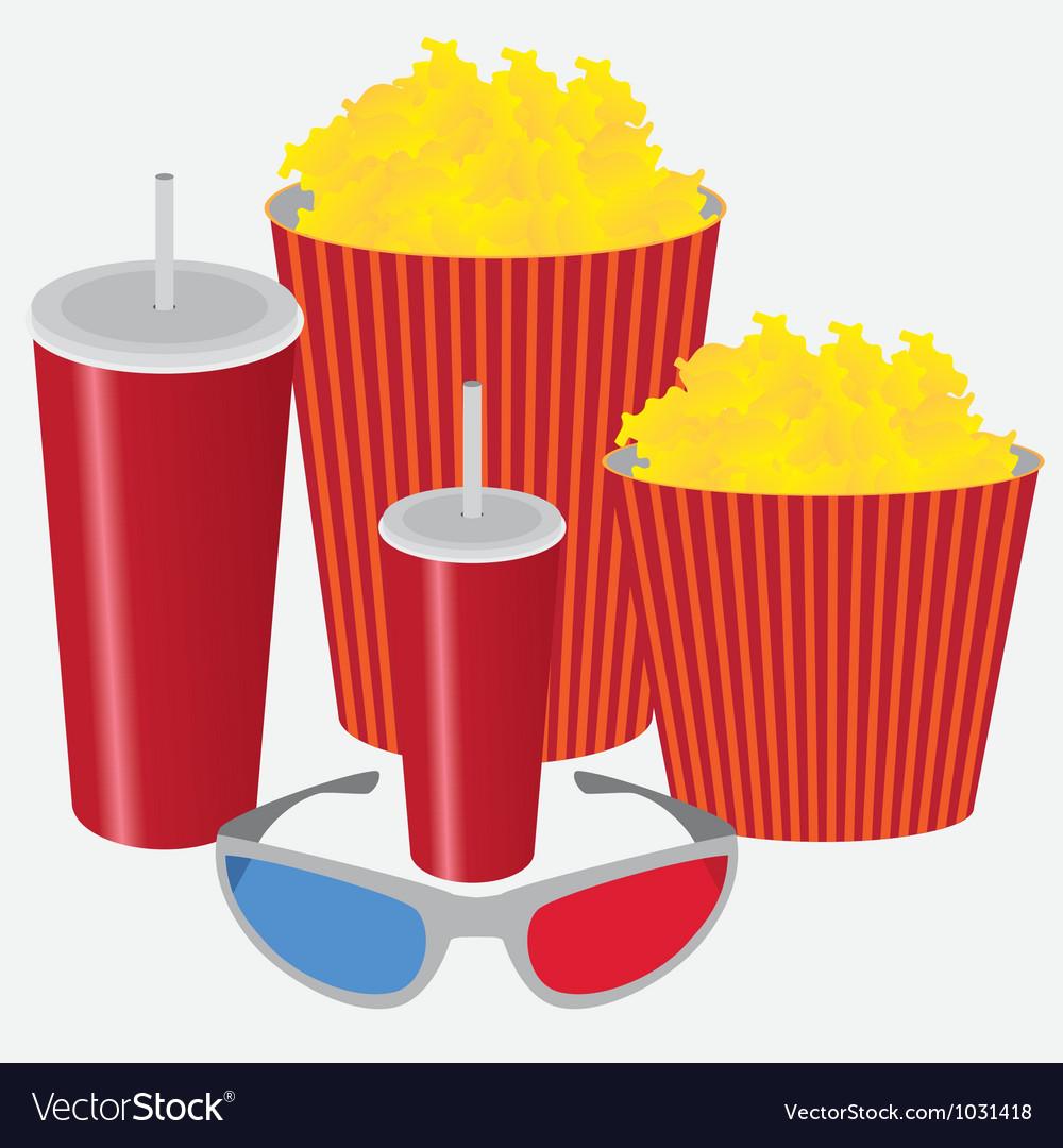 3d cinema vector | Price: 1 Credit (USD $1)