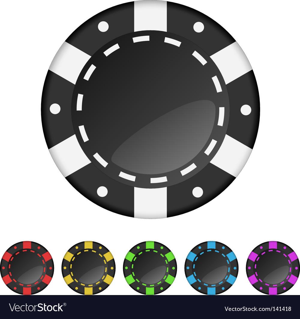 Gambling chips vector | Price: 1 Credit (USD $1)