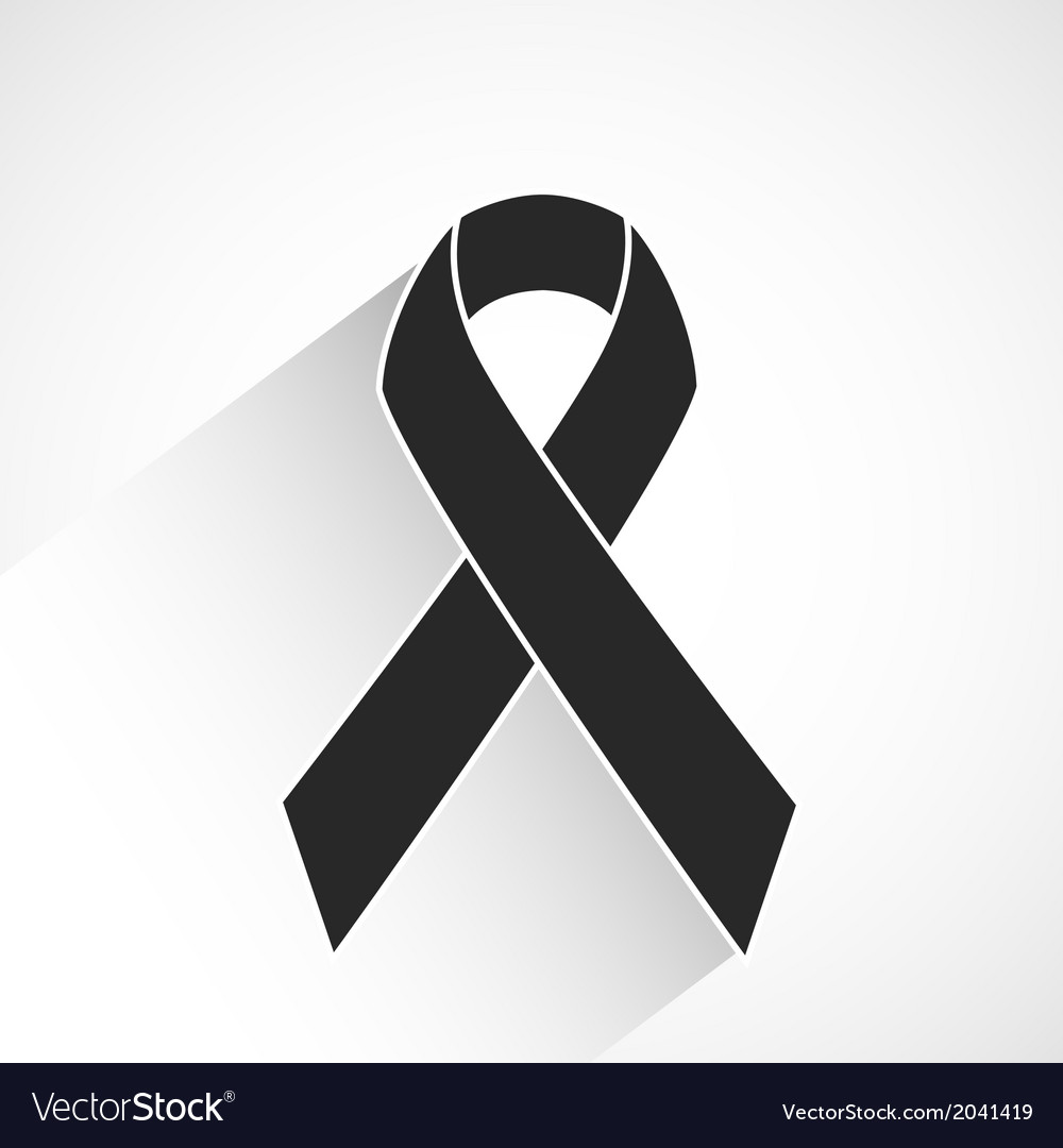 Cancer awareness ribbon vector | Price: 1 Credit (USD $1)