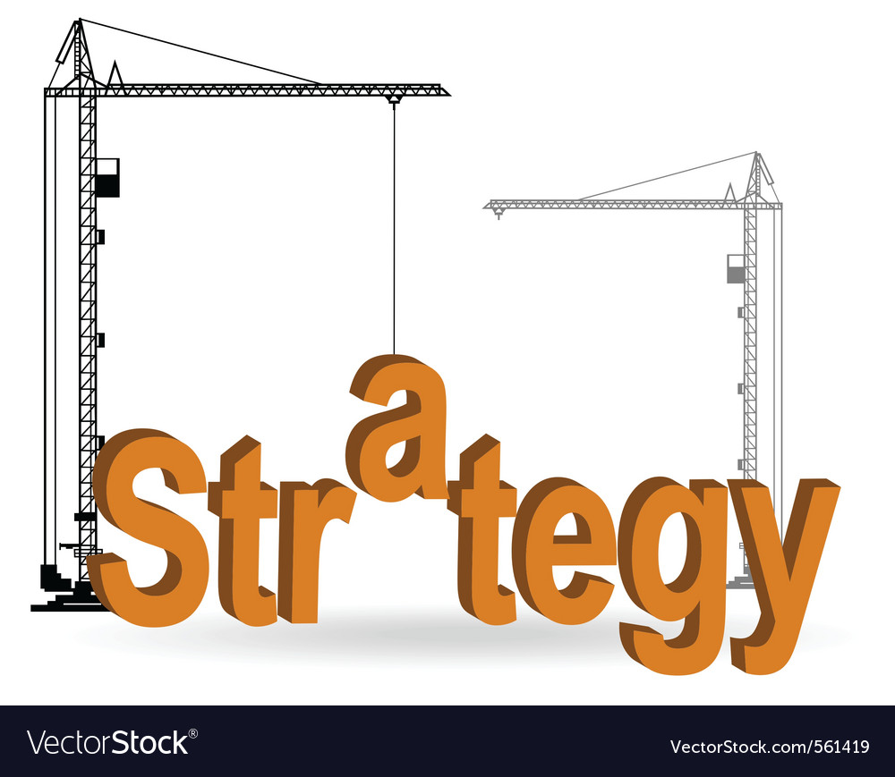Crane construction vector | Price: 1 Credit (USD $1)
