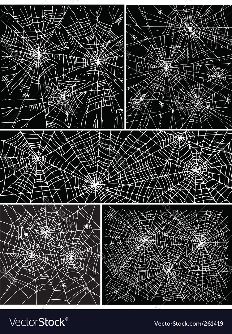 Web background pattern set ii vector | Price: 1 Credit (USD $1)