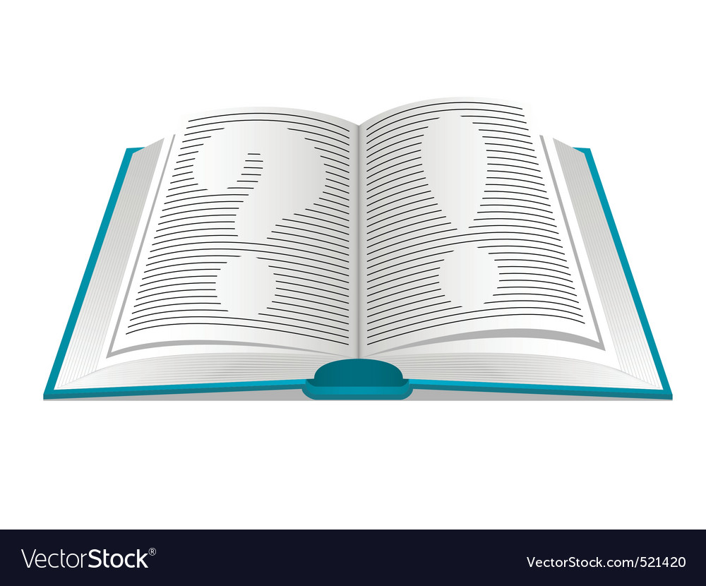 Book of questions and answers vector | Price: 1 Credit (USD $1)