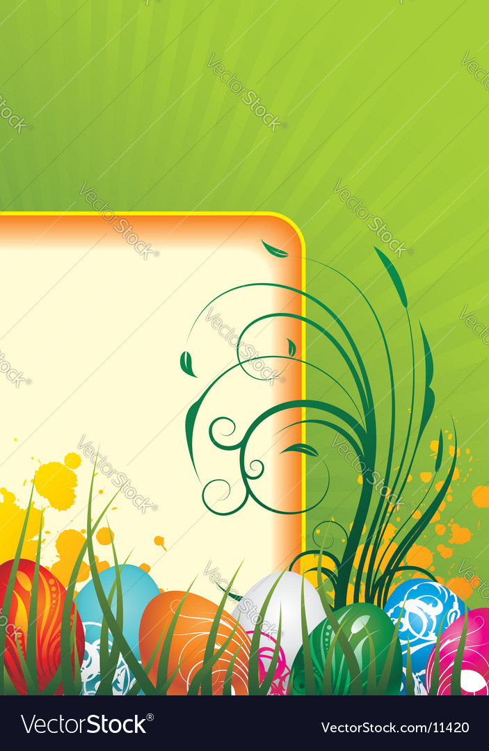 Easter backgrounds vector | Price: 3 Credit (USD $3)