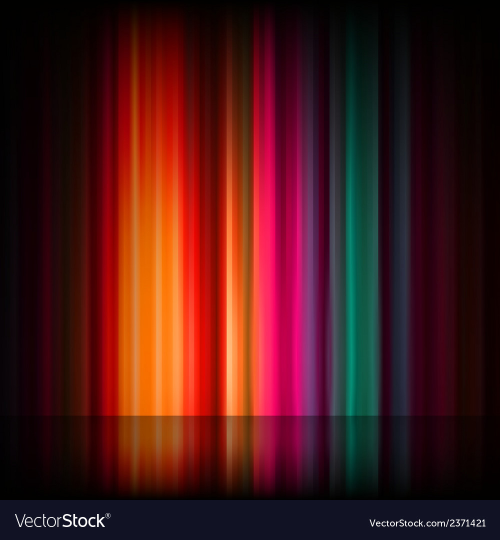 Aurora borealis colorful abstract eps 8 vector | Price: 1 Credit (USD $1)