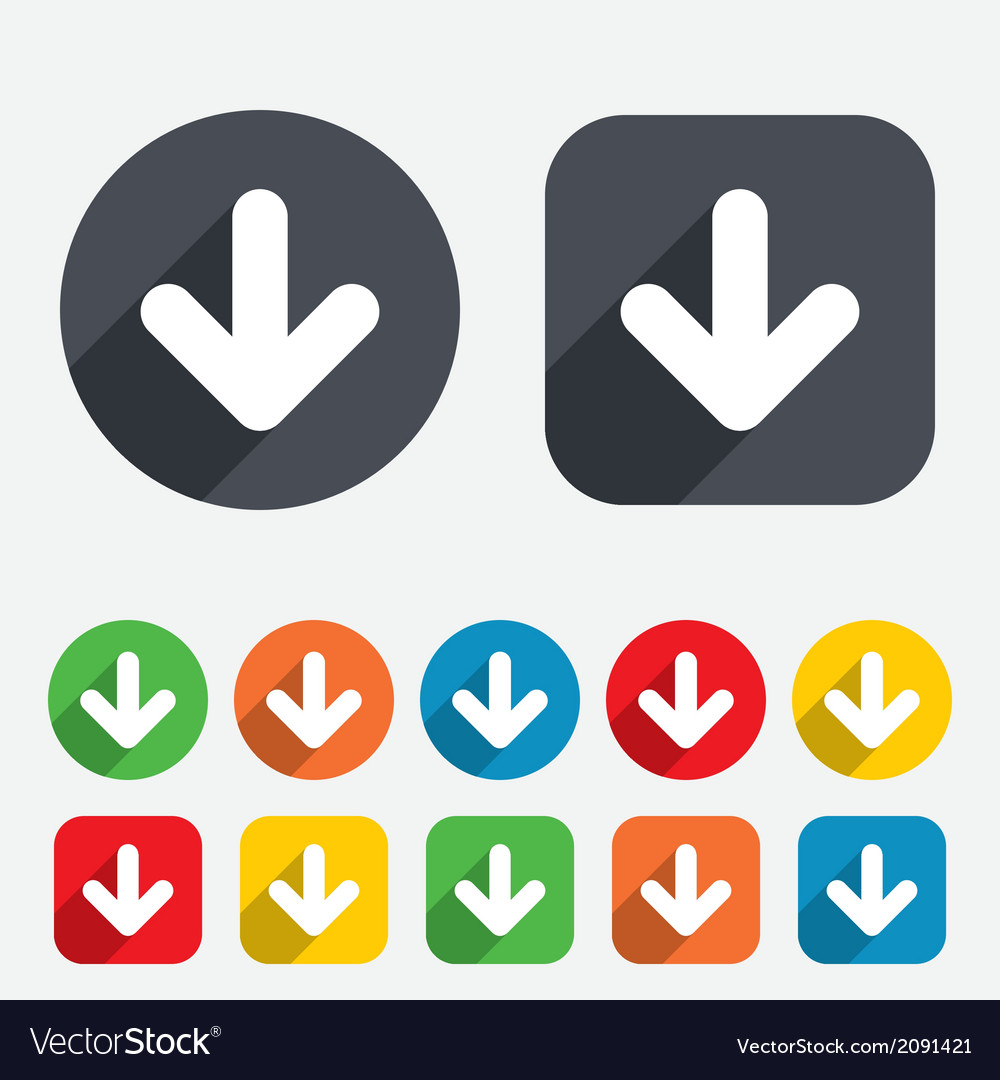 Download icon upload button vector | Price: 1 Credit (USD $1)