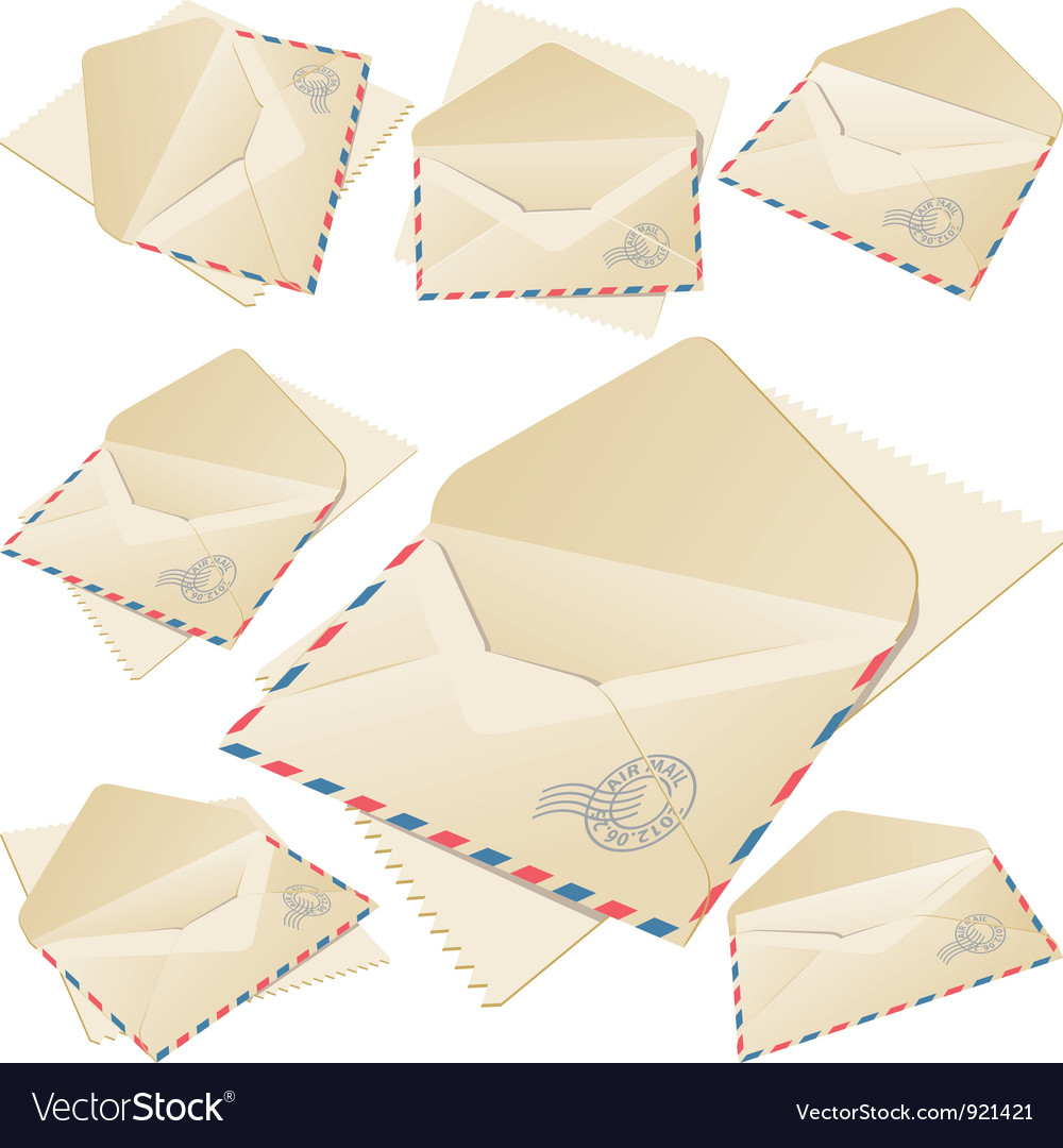 Old mail vector | Price: 3 Credit (USD $3)