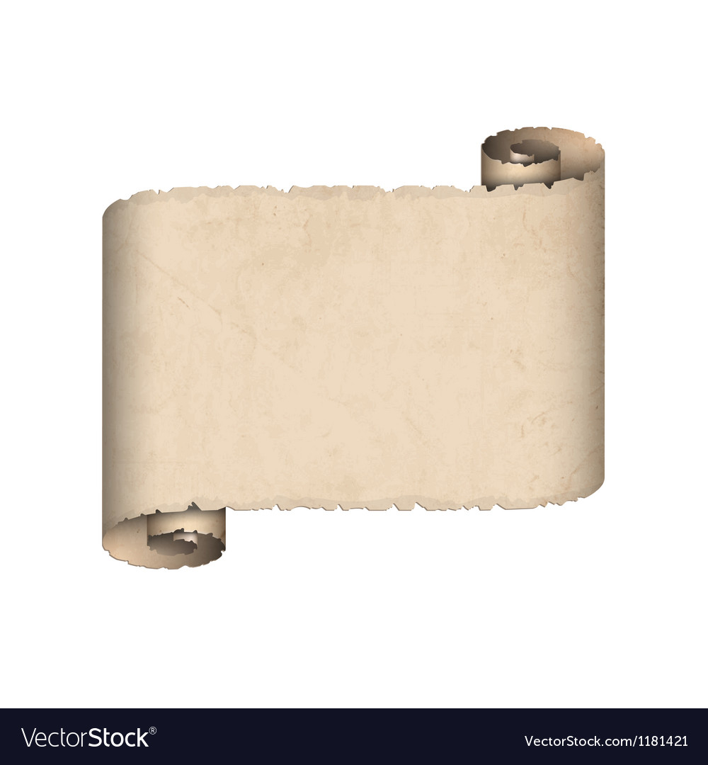 Old scroll paper vector | Price: 1 Credit (USD $1)