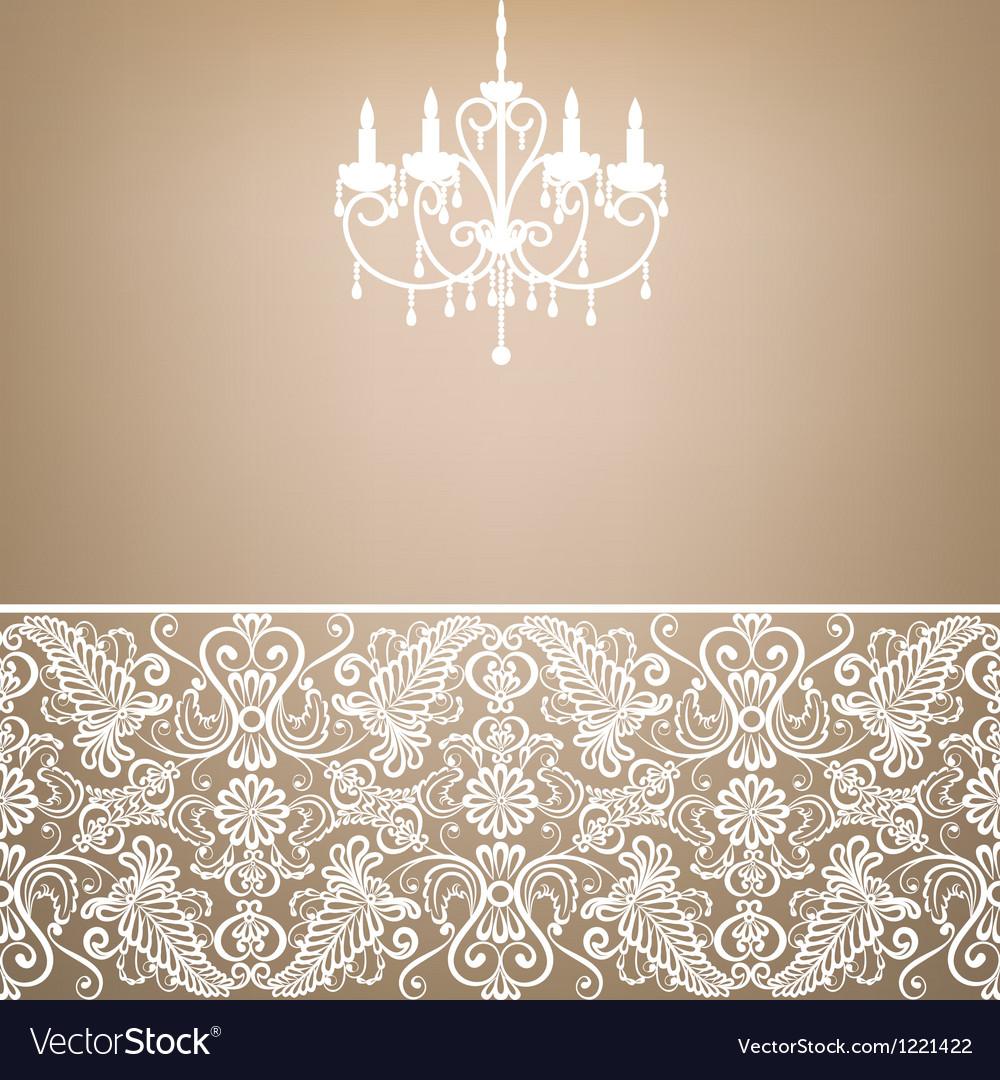 Antique chandelier vector | Price: 1 Credit (USD $1)