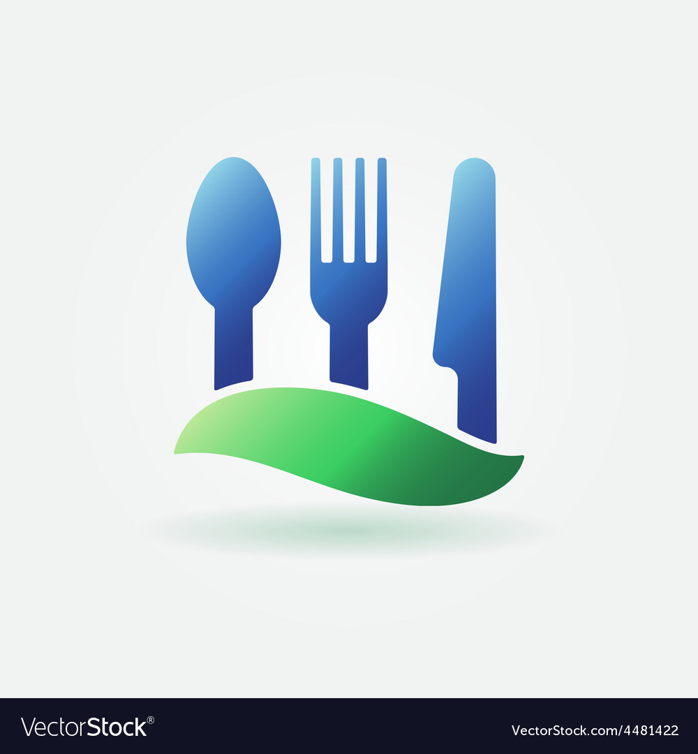 Food or cafe bright icon vector | Price: 1 Credit (USD $1)