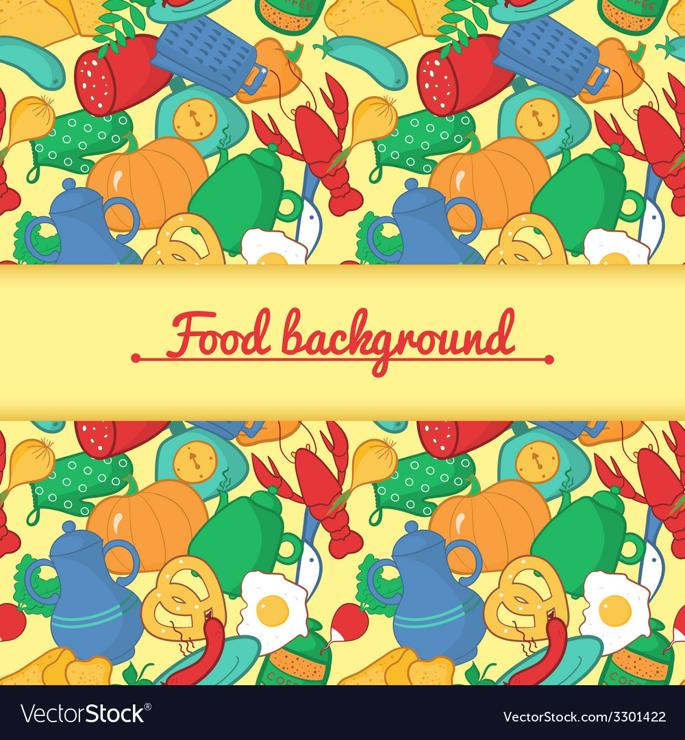 Kitchen in cartoon style vector | Price: 1 Credit (USD $1)