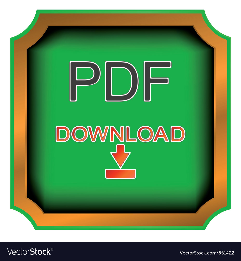 Pdf download icon vector | Price: 1 Credit (USD $1)