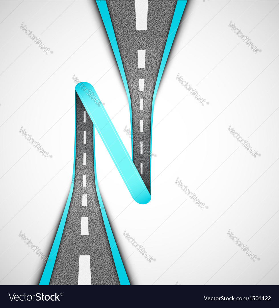 Road loop vector | Price: 3 Credit (USD $3)