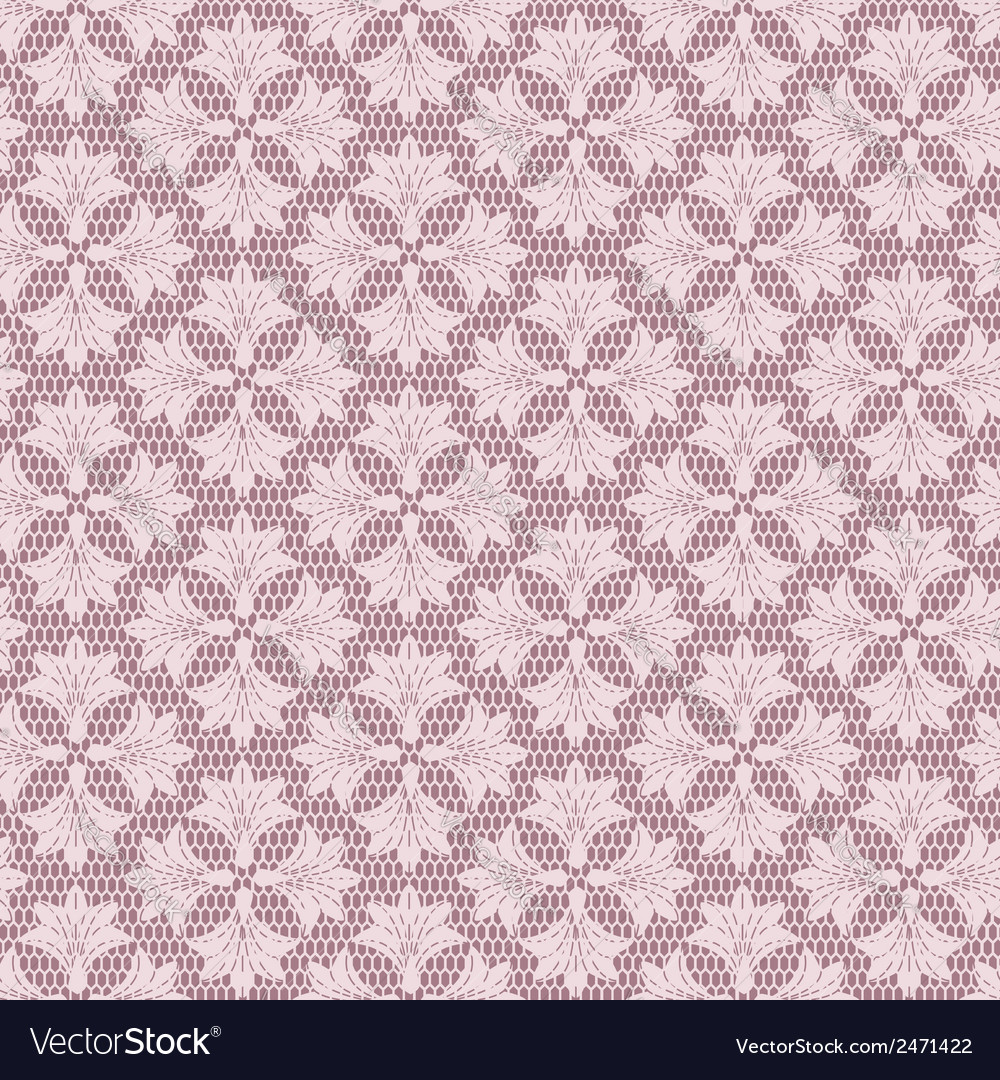 Seamless floral lacy background vector | Price: 1 Credit (USD $1)