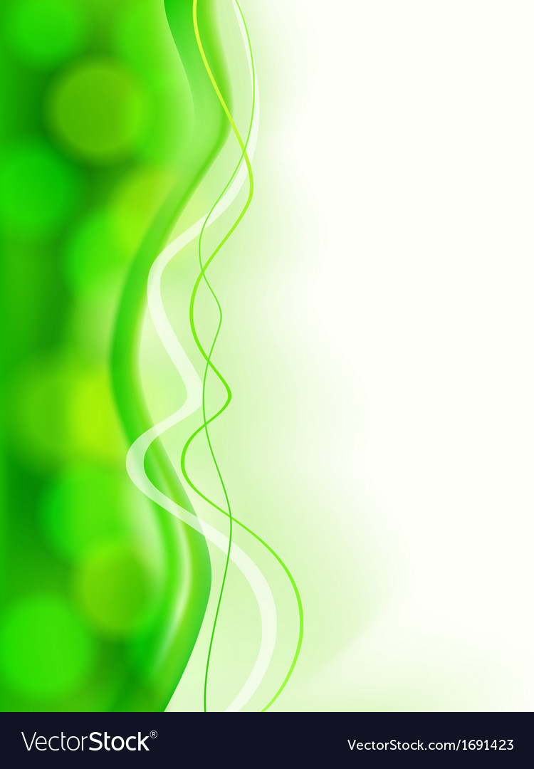 Abstract green soft focus card vector | Price: 1 Credit (USD $1)