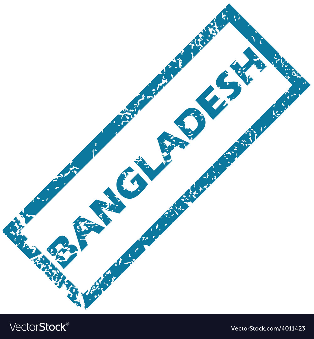 Bangladesh rubber stamp vector | Price: 1 Credit (USD $1)
