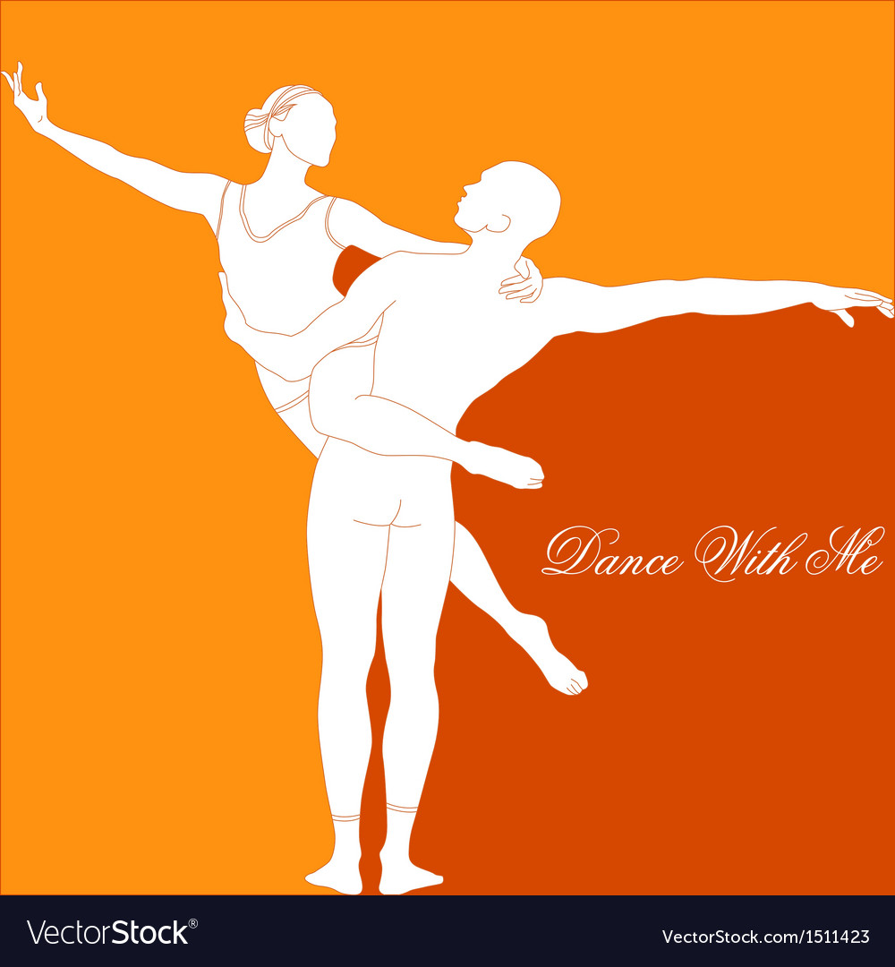 Dance with me vector | Price: 1 Credit (USD $1)