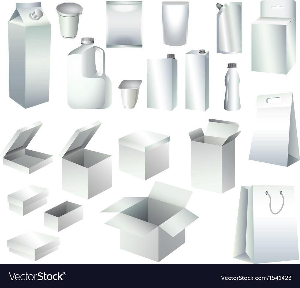 Packaging set vector | Price: 3 Credit (USD $3)