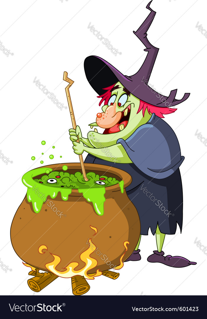 Witch brew vector | Price: 3 Credit (USD $3)