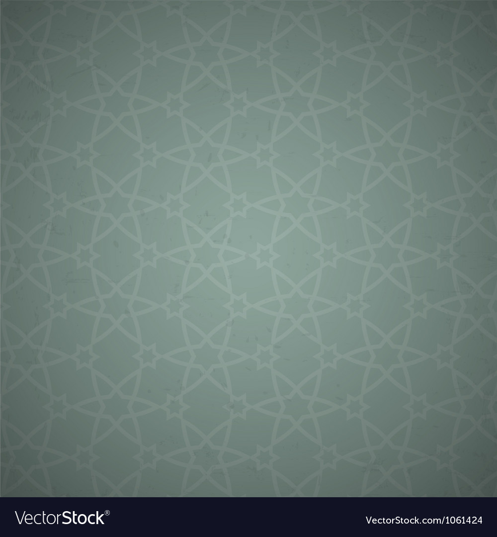 Arabian wallpaper pattern vector | Price: 1 Credit (USD $1)
