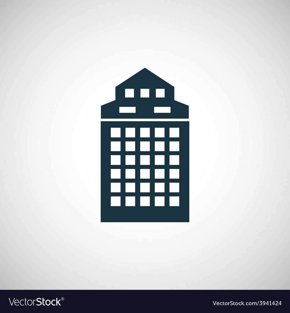 Building icon vector | Price: 1 Credit (USD $1)