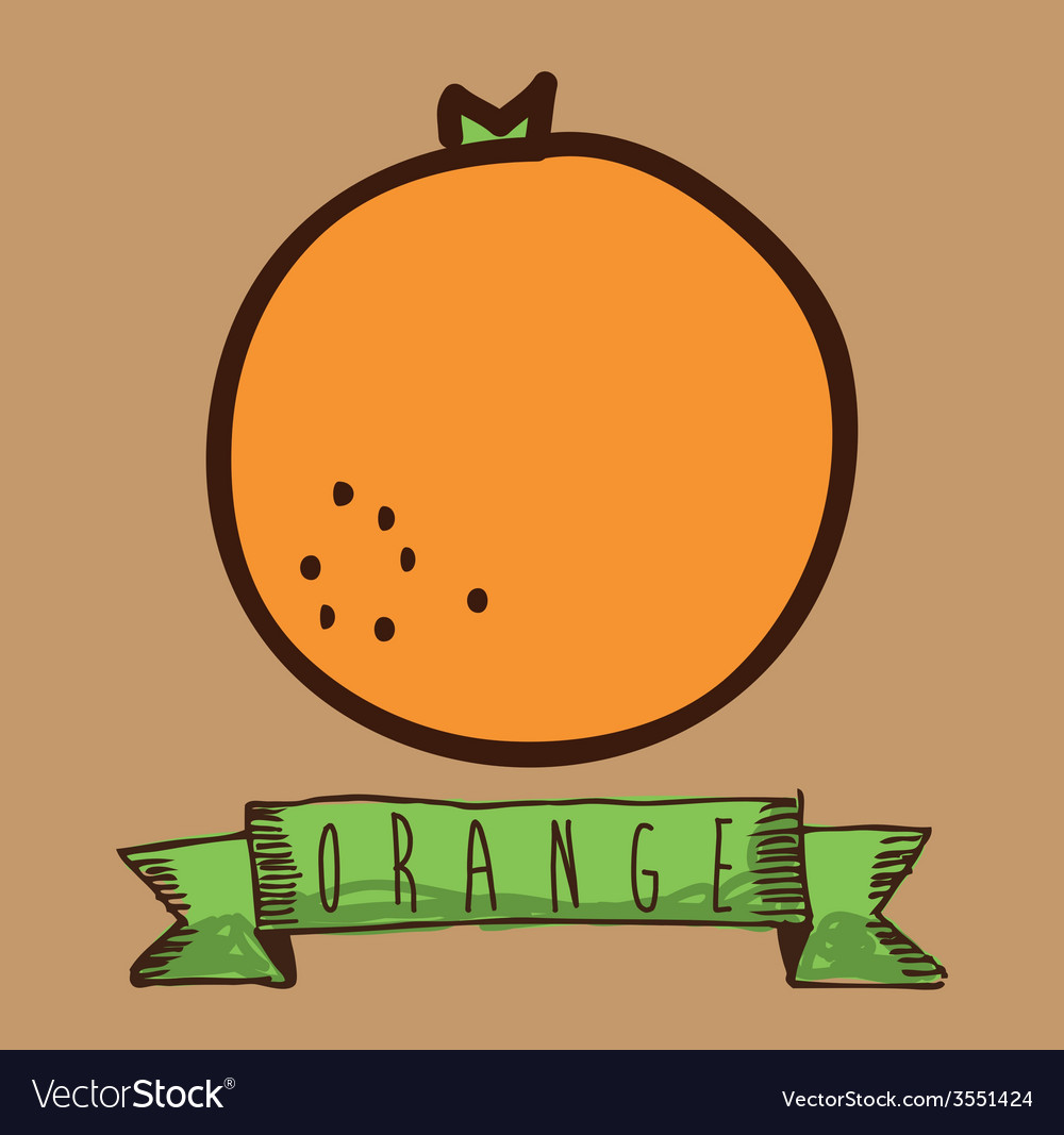 Fruit cute design vector | Price: 1 Credit (USD $1)