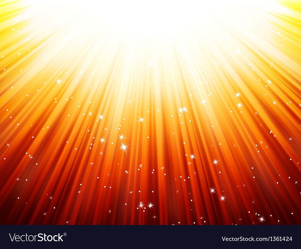 Sunburst rays of sunlight tenplate eps 10 vector | Price: 1 Credit (USD $1)