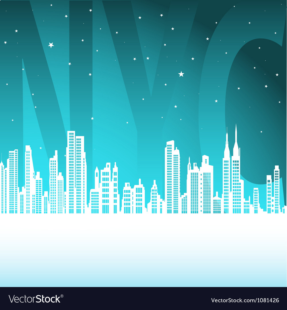 Manhattan vector | Price: 1 Credit (USD $1)