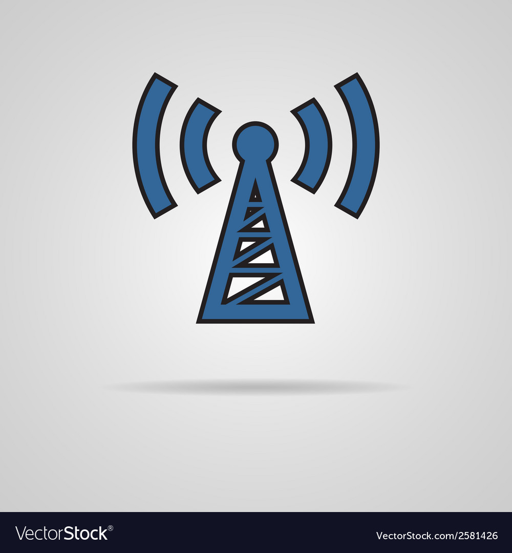 Transmitter icon vector   Price: 1 Credit (USD $1)
