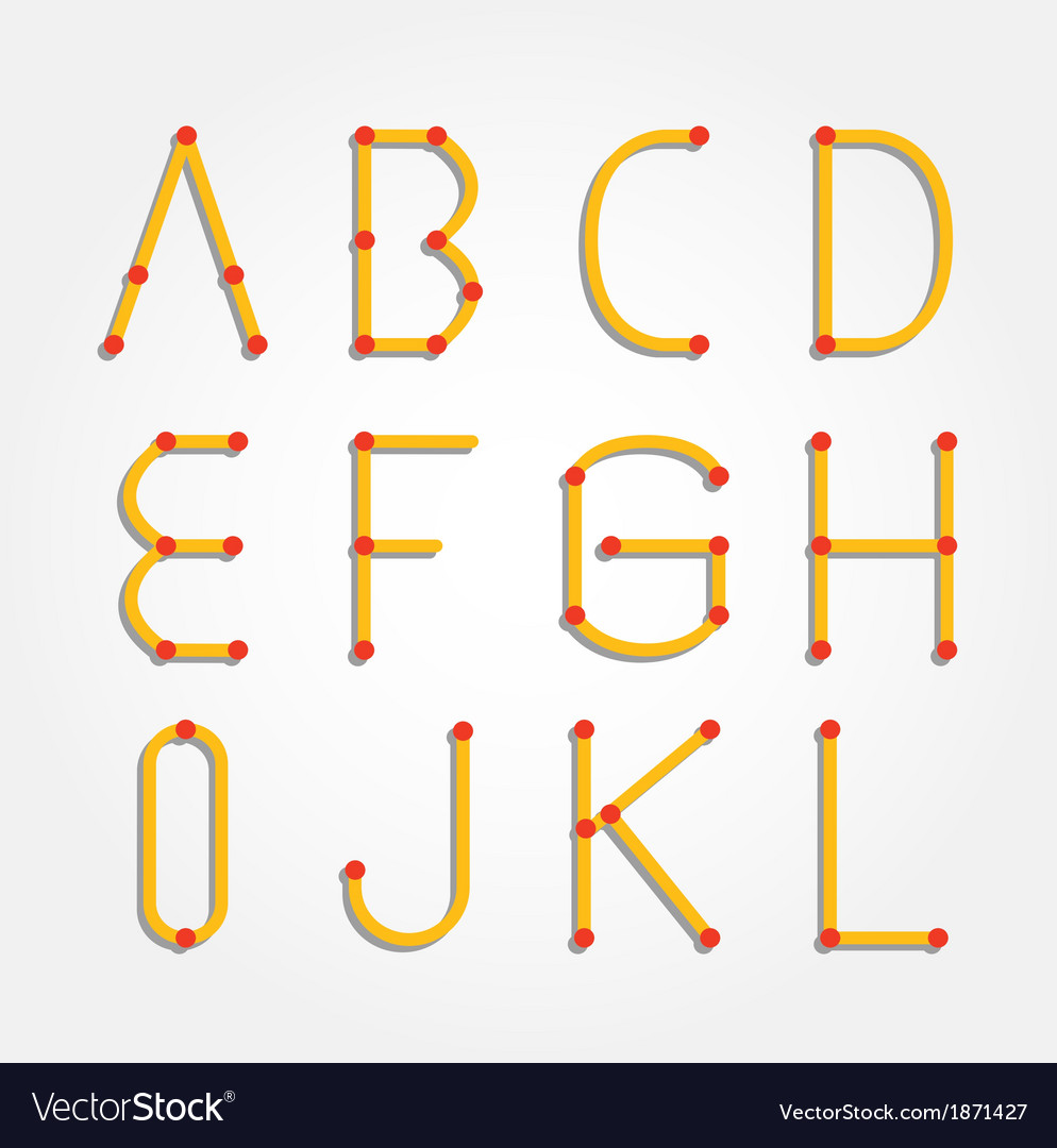 Alphabet dot modern paper cut vector | Price: 1 Credit (USD $1)