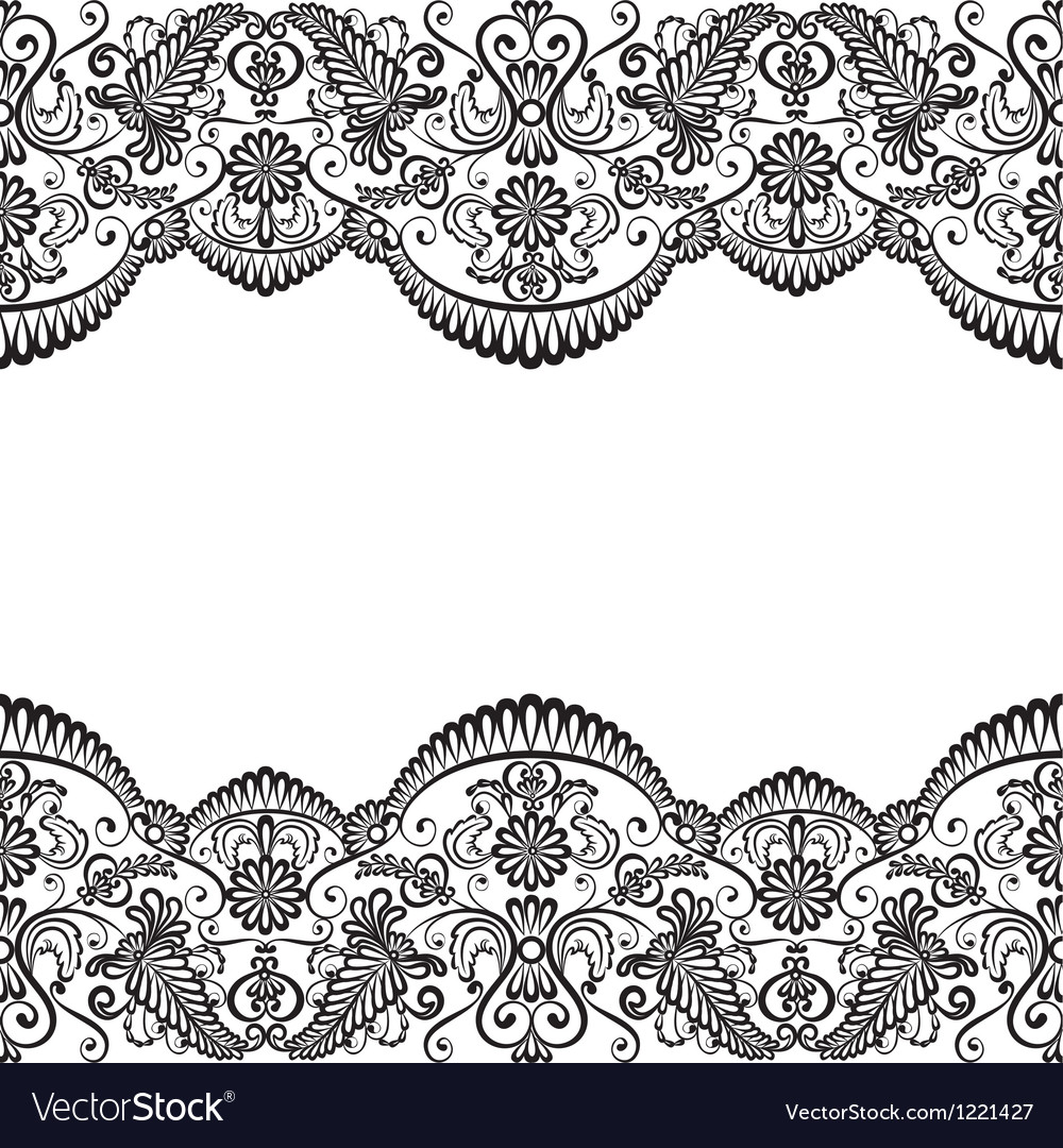 Card with lace vector | Price: 1 Credit (USD $1)