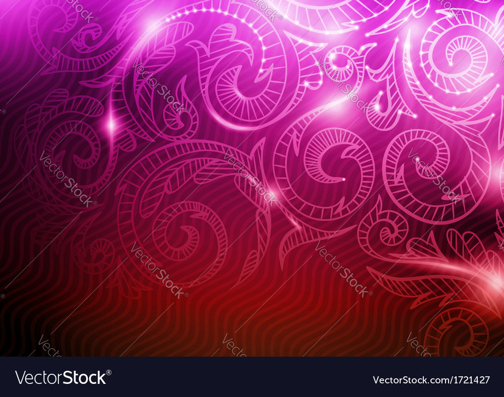 Neon pattern background vector | Price: 1 Credit (USD $1)