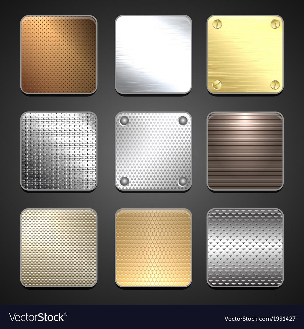 Texture metal vector | Price: 1 Credit (USD $1)