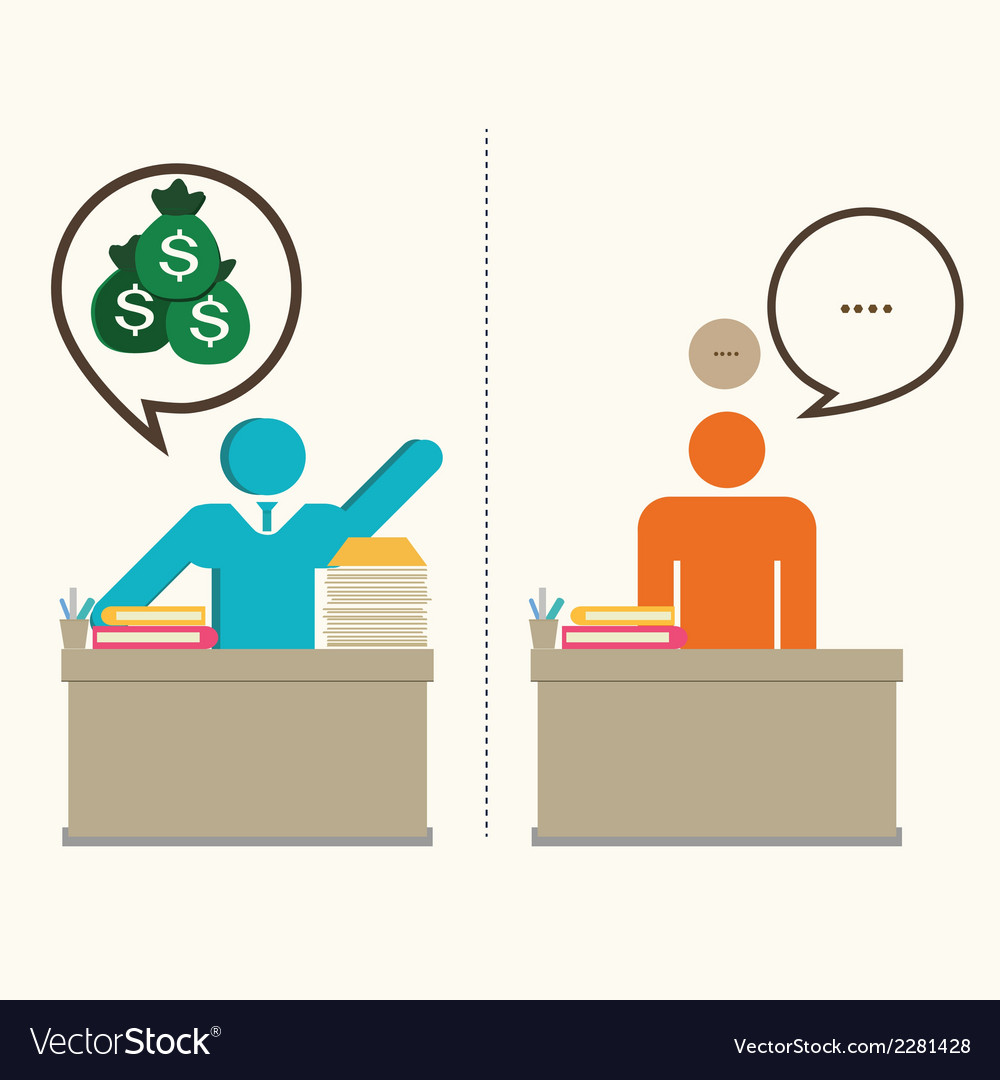 Businessman working hard vector | Price: 1 Credit (USD $1)