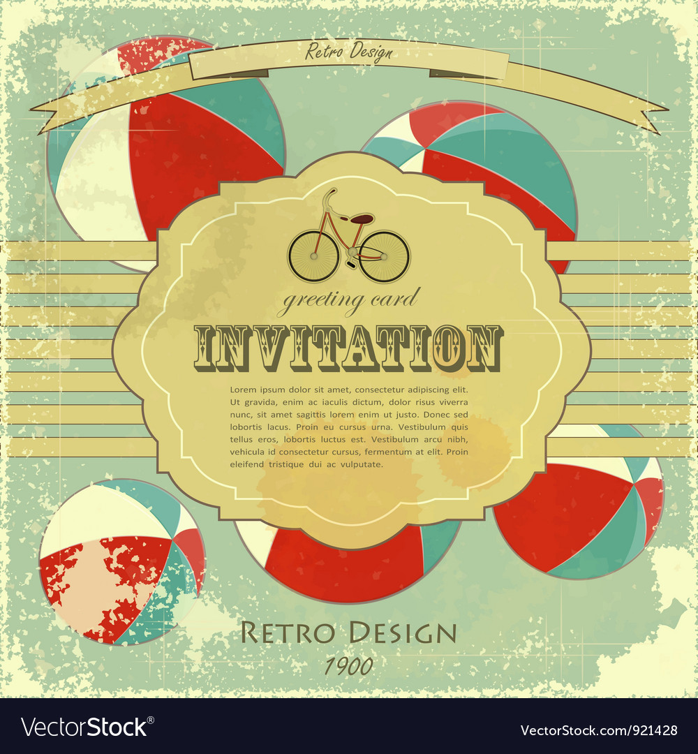 Vintage circus placard vector | Price: 1 Credit (USD $1)