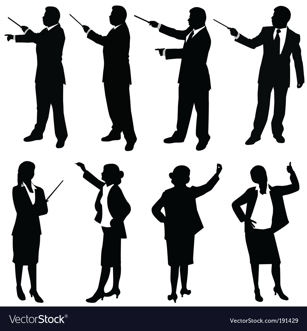 Business people presentation vector | Price: 1 Credit (USD $1)