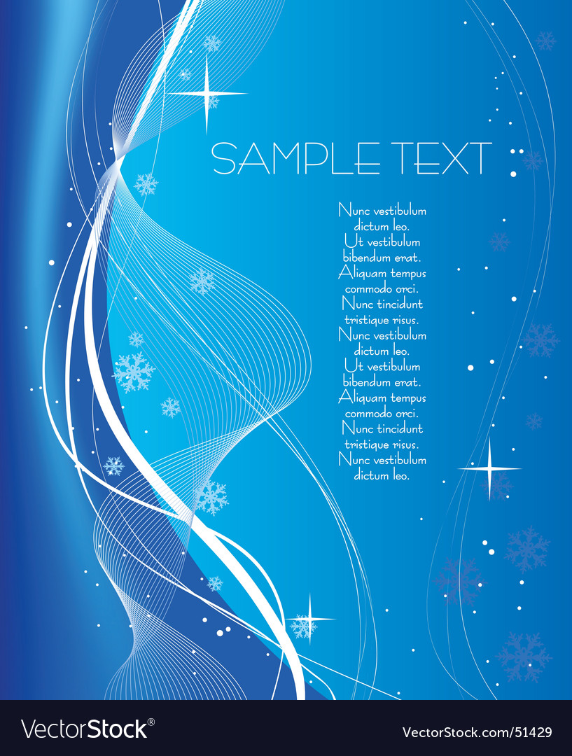 Christmas blue abstract background vector | Price: 1 Credit (USD $1)