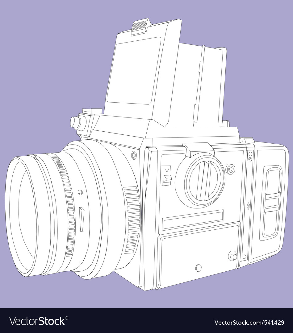 Film camera vector | Price: 1 Credit (USD $1)