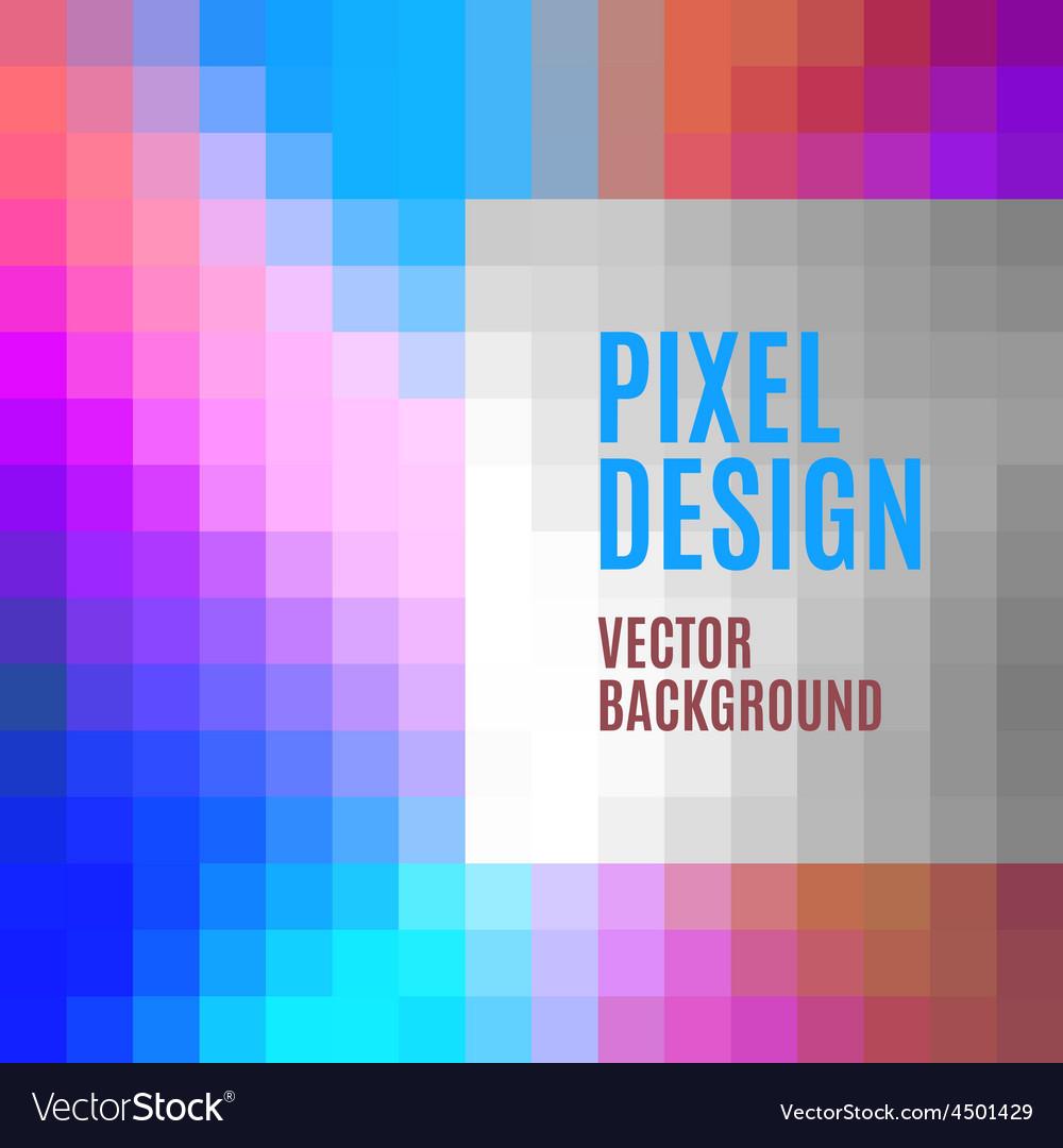Pixel template vector | Price: 1 Credit (USD $1)