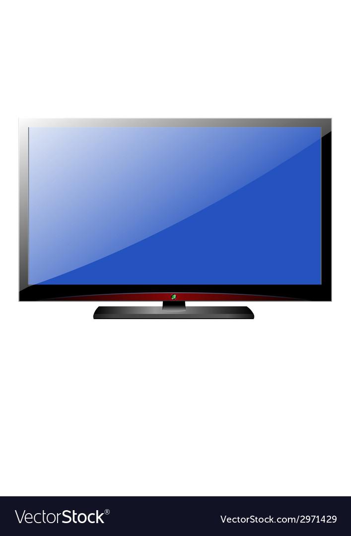 Tv screen vector | Price: 1 Credit (USD $1)