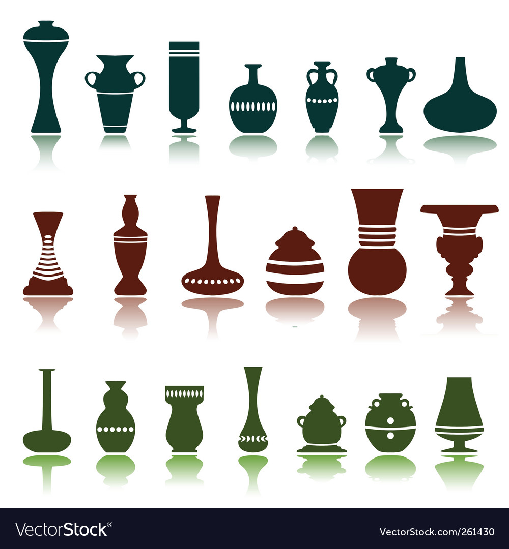 Decorative objects vector | Price: 1 Credit (USD $1)