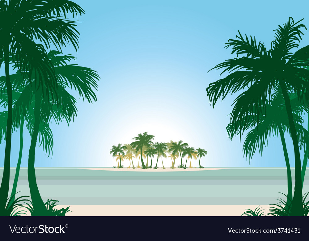 Beach 04 01 vector | Price: 1 Credit (USD $1)