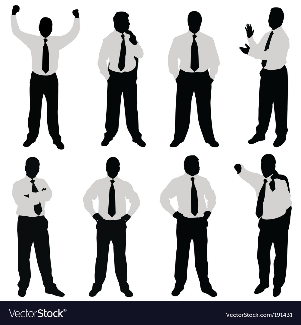 Businessman vector | Price: 1 Credit (USD $1)