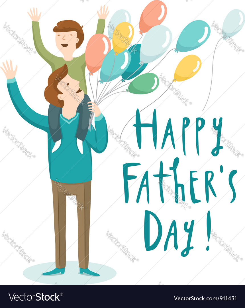 Fathers day vector | Price: 3 Credit (USD $3)